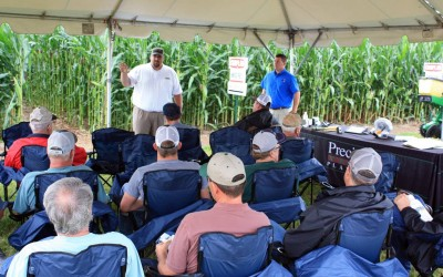 Answer Plot Event lets Farmers see how Products Perform Locally