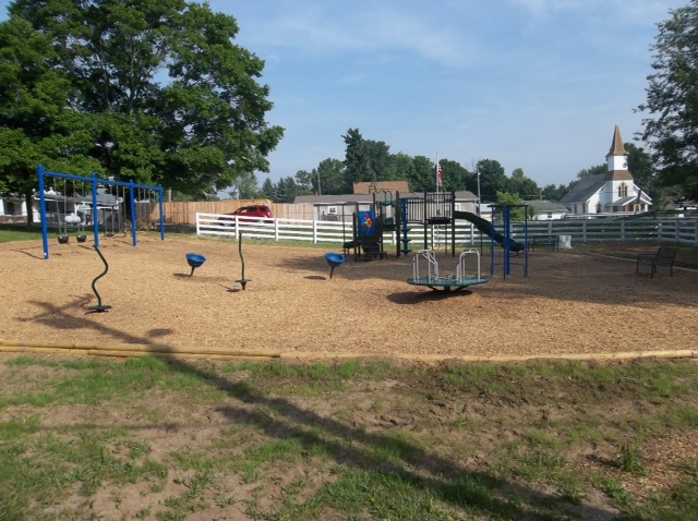 Philanthropic Efforts:  Playground Project  – Elizabethtown, Indiana